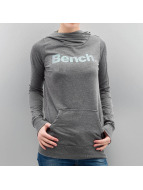 Bench Sweat à capuche Corp Print gris