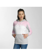 Bench Sweat à capuche Colorblock magenta