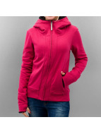 Bench Sweat à capuche zippé Kagdi II rouge