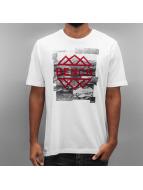 Bench T-Shirt Graphic blanc