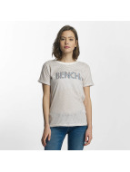 Bench Life T-Shirt Snow White/Metallic Stripe