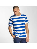 Bench T-Shirt Handpainted Stripe bleu