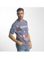 Bench T-shirt AOP City lila