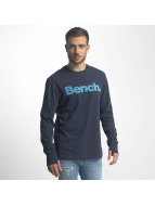 Bench T-Shirt manches longues Logo bleu