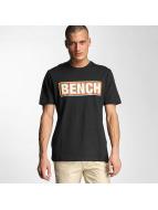 Bench T-Shirt Logo schwarz