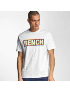 Bench T-Shirt Logo weiß
