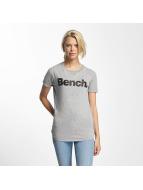 Bench Core Logo T-Shirt Grey Melange