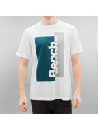 Bench T-Shirty Logo bialy