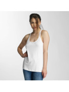 Bench Strap Solid Top White