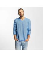 Bench Structured Sweater Dark Blue