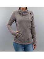 Bench Transitional Jackets Riskrunner B Fleece Jacket grå
