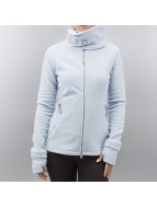 Bench Übergangsjacke Funnelneck Fleece Jacket blau