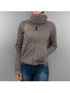 Bench Übergangsjacke Difference Fleece Jacket grau