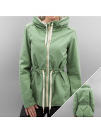 Bench Übergangsjacke Casual Cotton grün