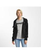 Bench Biker Funnel Sweat Jacket Black