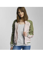 Bench Veste bomber Colourblock rose