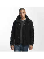 Bench Veste mi-saison légère Easy Cotton Mix noir
