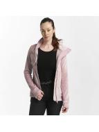 Bench Veste mi-saison légère Fleece Funnel rose