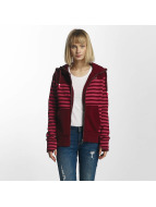 Bench Striped Zip Hoody Cabernet