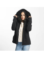 Bench Winterjacke Asymmetric Functional schwarz