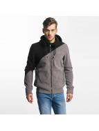 Bench Zip Hoodie Fleece grey