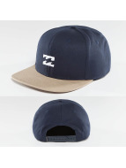 Billabong Snapback Caps All Day niebieski