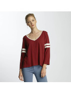 Billabong T-Shirt manches longues Get Back Knit rouge