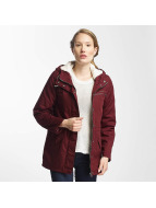 Billabong winterjas Facil Iti rood