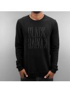 Black Kaviar Pullover Kalti schwarz