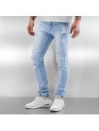Black Kaviar Straight Fit Jeans Koop blå
