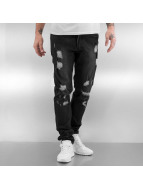 Black Kaviar Straight Fit Jeans Koop svart