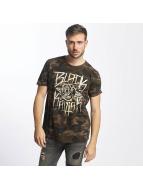 Black Kaviar T-shirt Rundrun kamouflage