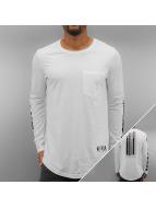 Black Kaviar T-Shirt manches longues Kostas blanc