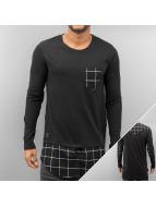 Black Kaviar T-Shirt manches longues Mendy noir