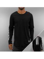 Black Kaviar T-Shirt manches longues Kostas noir
