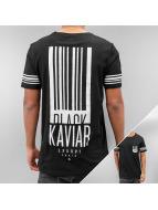 Black Kaviar T-Shirt Genova schwarz