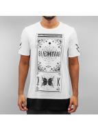 Black Kaviar T-Shirt Gream weiß