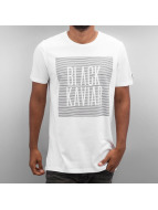 Black Kaviar T-Shirt Kalke weiß