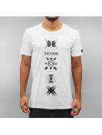 Black Kaviar T-skjorter Gaudi hvit