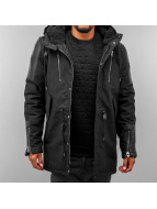Black Kaviar Winter Jacket Maps black