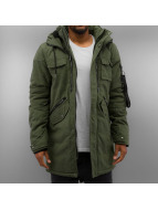 Black Kaviar Winterjacke Mower khaki