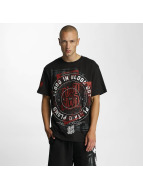 Blood In Blood Out Camiseta Plata O Plomo negro