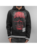 Blood In Blood Out Hoodie Red Calavera svart