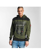 Blood In Blood Out Hoodies Chivato grön