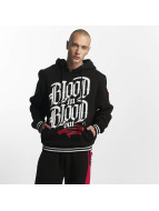 Blood In Blood Out Hoody Logo schwarz
