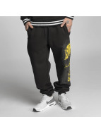 Blood In Blood Out Yellow Calavera Sweatpants Black