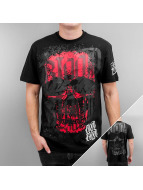 Blood In Blood Out T-Shirt Red Calavera black