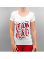 Blood In Blood Out T-Shirt Logo weiß