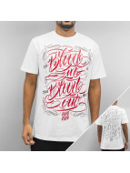 Blood In Blood Out T-Shirt Blood Cholo white