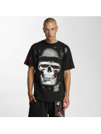 Blood In Blood Out t-shirt Skull Hat zwart